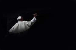 June 14, 2017 - Vatican City State (Holy See) - POPE FRANCIS during his weekly general audience in St. Peter's Square at the Vatican  (Credit Image: © Evandro Inetti via ZUMA Wire)