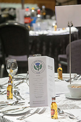 The Steins Thistle Club sportsmans dinner held on the 11th of March 2017,  at Airth Castle.