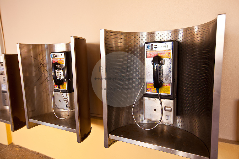 US style public pay phone