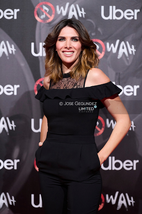 Veronica Sanz attends 'Wah' Musical Show World Premiere Red Carpet at IFEMA on October 7, 2021 in Madrid, Spain