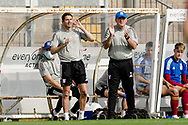 Ipswich Town Manager Paul Lambert claps and shouts at his players during the EFL Sky Bet League 1 match between Bristol Rovers and Ipswich Town at the Memorial Stadium, Bristol, England on 19 September 2020.