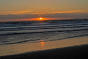 Sunset on Dillon Beach, Marin County, California, USA