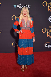 July 30, 2018 - Burbank, Kalifornien, USA - Tori Spelling bei der Premiere des Kinofilms 'Christopher Robin' in den Walt Disney Studios. Burbank, 30.07.2018 (Credit Image: © Future-Image via ZUMA Press)