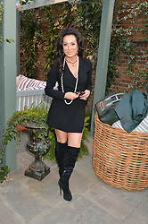 PICTURE SHOWS:-NANCY DELL'OLIO.<br /> Tuesday 14th April 2015 saw a host of London influencers and VIP faces gather together to celebrate the launch of The Ivy Chelsea Garden. Live entertainment was provided by jazz-trio The Blind Tigers, whilst guests enjoyed Moët & Chandon Champagne, alongside a series of delicious canapés created by the restaurant's Executive Chef, Sean Burbidge.<br /> The evening showcased The Ivy Chelsea Garden to two hundred VIPs and Chelsea<br /> residents, inviting guests to preview the restaurant and gardens which marry<br /> approachable sophistication and familiar luxury with an underlying feeling of glamour and theatre. The Ivy Chelsea Garden's interiors have been designed by Martin Brudnizki Design Studio, and cleverly combine vintage with luxury, resulting in a space that is both alluring and down-to-earth.