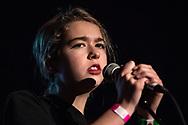 American singer-songwriter Lindsey Jordan aka Snail Mail at Iceland Airwaves
