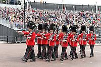 LONDON - JUNE 05: Grenadier Guards, The Queen's Diamond Jubilee, The Mall, London, UK. June 05, 2012. (Photo by Richard Goldschmidt)
