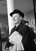 Sir John Gielgud & John Penny at D.A.P..23.04.1961