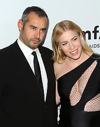 13 October 2017 - Beverly Hills, California - Natasha Bedingfield with husband Matt Robinson. 2017 amfAR Gala Los Angeles held at Green Acres Estate in Beverly Hills. Photo Credit: AdMedia