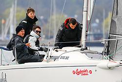 , Kiel - Maior 28.04. - 01.05.2018, J 80 - Bibelot - GER 529 - Niklas SCHUBERT - Kieler Yacht-Club e. V