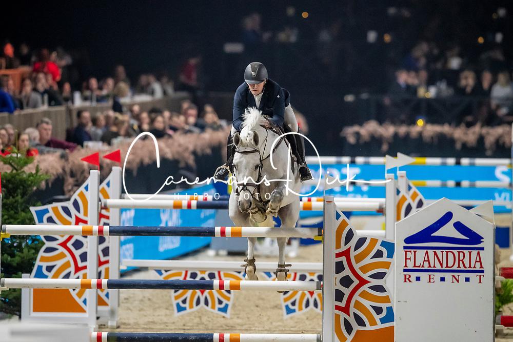 Goossens Brecht, BEL, Hero van Heiste<br /> Jumping Mechelen 2019<br /> © Hippo Foto - Dirk Caremans<br />  26/12/2019