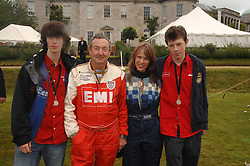 Left to right, CARY MASON NICK & NETTE MASON and GUY MASON at the Cartier Style Et Luxe at the Goodwood Festival of Speed, Goodwood House, West Sussex on 24th June 2007.<br />