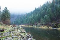 Wallowa River, Oregon.
