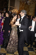 Margherita Missoni and her escort, Lupo Lanzara. Crillon Debutantes Ball 2002. Paris. 7 December 2002. © Copyright Photograph by Dafydd Jones 66 Stockwell Park Rd. London SW9 0DA Tel 020 7733 0108 www.dafjones.com