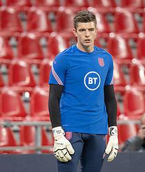 Nick Pope (England) under UEFA Nations League kampen mellem Danmark og England den 8. september 2020 i Parken, København (Foto: Claus Birch).