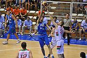 Trieste 8 Settembre 2012 Qualificazioni Europei 2013 Italia Bielorussia<br /> Foto Ciamillo<br /> Nella foto : angelo gigli