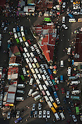 Stabroek Market & Taxis<br /> Georgetown<br /> Georgetown built below sea level<br /> GUYANA<br /> South America