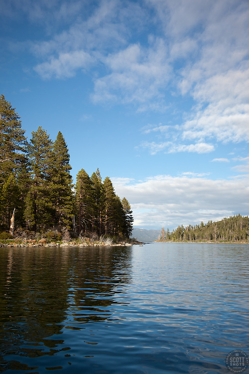 """""""Entrance to Emerald Bay"""" - This photography was shot at the entrance to Emerald Bay, lake Tahoe, CA."""