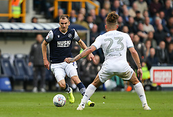 Jed Wallace of Millwall runs at Kalvin Phillips of Leeds United - Mandatory by-line: Arron Gent/JMP - 05/10/2019 - FOOTBALL - The Den - London, England - Millwall v Leeds United - Sky Bet Championship