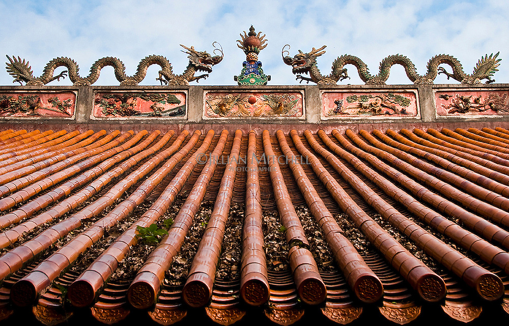 Ming dynasty architecture - Wen Confucius temple in Gongcheng near Yangshuo, China.