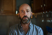 Kendall, 44, contacted me through my website, subject of a documentary that explores what it<br /> means to be LGBT and Mormon, Photographed at his home in Salt Lake City, Utah.