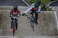 #255 (BRESCHAN Noah) SUI during round 4 of the 2017 UCI BMX  Supercross World Cup in Zolder, Belgium.