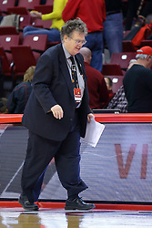 26 November 2016:  Art Sievers during an NCAA  mens basketball game between the Ferris State Bulldogs the Illinois State Redbirds in a non-conference game at Redbird Arena, Normal IL