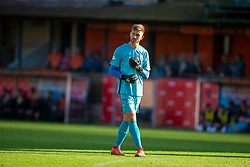 Morton's keeper after Danny RogersDundee United's Paul McMullan celebrates after scoring their fifth goal. Dundee United 6 v 0 Morton, Scottish Championship game played 28/9/2019 at Dundee United's stadium Tannadice Park.