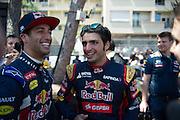 May 20-24, 2015: Monaco - Carlos Sainz Jr. Scuderia Toro Rosso, Daniel Ricciardo (AUS), Red Bull-Renault