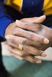 Anonymous pair of men's hands