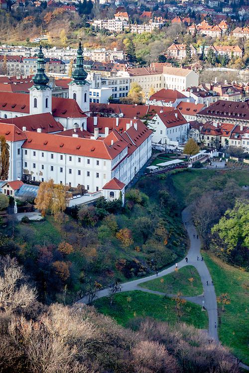 Strahov Monastery is a Premonstratensian abbey founded in 1149 by Bishop Jindřich Zdík, Bishop John of Prague, and Duke Vladislav II. It is located in Strahov, Prague, Czech Republic.