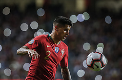 March 22, 2019 - Na - Lisbon, 03/22/2019 - The Portuguese Football Team received its Ukrainian counterpart at the Estádio da Luz in Lisbon this afternoon to play in Group B in the European 2020 qualifying round. João Cancelo  (Credit Image: © Atlantico Press via ZUMA Wire)