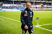 Fotball , 8 Juli , Eliteserien , Aalesund - Molde , Trond Fredriksen før kampstart<br /> <br />  , Foto: Marius Simensen, Digitalsport