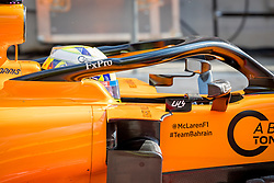 February 19, 2019 - Montmelo, Barcelona, Catalonia, Spain - Barcelona-Catalunya Circuit, Montmelo, Catalonia, Spain - 19/02/2018: Lando Norris of McLaren  detail in the MCL34 during second journey of F1 Test Days in Montmelo circuit. (Credit Image: © Javier Martinez De La Puente/SOPA Images via ZUMA Wire)