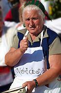 Women fron Nagrecse in traditional dress - Hungarian Regional Gastronomic Festival 2009 - Gyor ( Gy?r ) Hunga