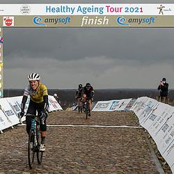 12-03-2021: Wielrennen: Healthy Ageing Tour: Wijster <br />Ellen van Dijk wint eindklassement Helathy Ageing Tour