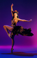 """Angelica Burgos, performs in the Sacramento Ballet production of """"Carman,"""" Friday March 19, 2004."""