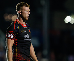 Dragons' Jack Dixon<br /> <br /> Photographer Simon King/Replay Images<br /> <br /> Guinness PRO14 Round 1 - Dragons v Benetton Treviso - Saturday 1st September 2018 - Rodney Parade - Newport<br /> <br /> World Copyright © Replay Images . All rights reserved. info@replayimages.co.uk - http://replayimages.co.uk
