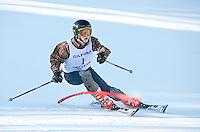 High School alpine ski meet at Gunstock  February 3, 2012.