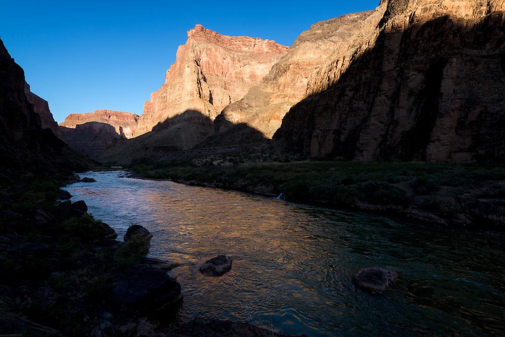 Colorado River at Lava Falls, Grand Canyon, Arizona.