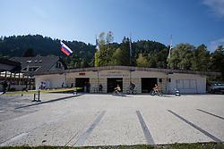 during rowing at Slovenian National Championship and farewell of Iztok Cop, on September 22, 2012 at Lake Bled, Ljubljana Slovenia. (Photo By Matic Klansek Velej / Sportida)