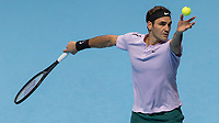 Tennis - 2017 Nitto ATP Finals at The O2 - Day Five<br /> <br /> Group Boris Becker Singles: Roger Federer (Switzerland) Vs Marin Cilic (Croatia)<br /> <br /> <br /> at the O2 Arena<br /> <br /> COLORSPORT/DANIEL BEARHAM