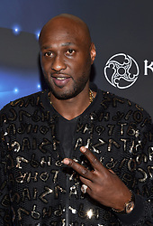 Lamar Odom attends the 2017 Maxim Halloween Party on October 21st, 2017 in Los Angeles, California. Photo by Lionel Hahn/AbacaPress.com