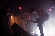 New York noise rockers A Place To Bury Strangers (featuring Oliver Ackermann of Death By Audio fame) fogged out The Firebird in Saint Louis on July 19th, 2012. Amps were thrown about, riffs were played, and one dude spent a large portion of the set transfixed with his mouth completely open in awe.