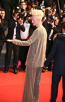 Actress Tilda Swinton.at Only Lovers Left Alive gala screening at the Cannes Film Festival Saturday 26th May May 2013