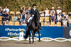 WERTH Isabell (GER), Weihegold OLD<br /> Longines Großer Optimum Preis <br /> präsentiert von das Meggle GmbH & Co. KG<br /> Nat. Dressurprüfung Kl. S**** - Grand Prix Kür <br /> Finale Deutsche Meisterschaften<br /> Balve Optimum - Deutsche Meisterschaft Dressur 2020<br /> 20. September2020<br /> © www.sportfotos-lafrentz.de/Stefan Lafrentz