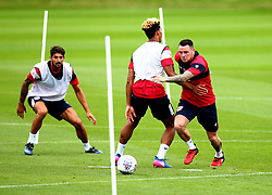Lee Tomlin in action as Bristol City return to training ahead of their 2017/18 Sky Bet Championship campaign - Mandatory by-line: Robbie Stephenson/JMP - 30/06/2017 - FOOTBALL - Failand Training Ground - Bristol, United Kingdom - Bristol City Pre Season Training - Sky Bet Championship
