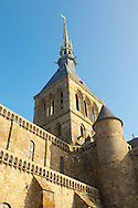 Mont Saint-Michel - Abbey Tower - Brittany - France