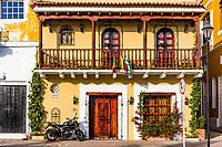 Getsemani<br /> aera of Cartagena de los indias Bolivar in Colombia South America