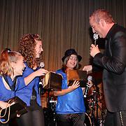 NLD/Amsterdam/20081107 - CD presentatie Gordon, Gordon en winnaars Kindersongfestival