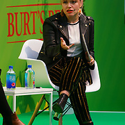 London, England, UK. 10th November 2017. how to break into a business you know nothing about with Ernestina Potts at the Stylist Live 2017 at Olympia London.